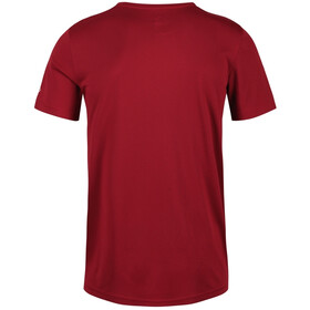 Regatta Fingal V Camiseta Hombre, rojo
